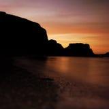 Praia de Westcombe Imagens de Stock