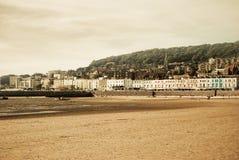 Praia de Weston Imagens de Stock
