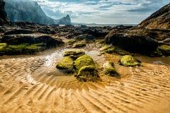 Praia de Whipsiderry Imagem de Stock