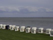 Praia de Wilhelmshaven Imagem de Stock