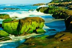 Praia de Windansea Fotografia de Stock Royalty Free