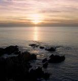 Praia de Woolacombe Imagem de Stock Royalty Free