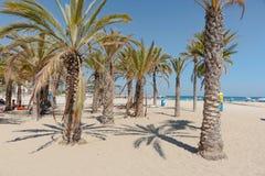 Praia de Xabia em Costa Blanca Spain mediterrâneo fotos de stock royalty free