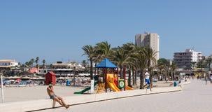 Praia de Xabia em Costa Blanca Spain mediterrâneo imagem de stock