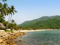 Praia de Yelapa em México Imagem de Stock Royalty Free