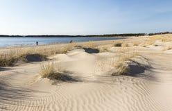 Praia de Yyteri na mola Imagens de Stock