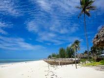 Praia de Zanzibar fotos de stock royalty free
