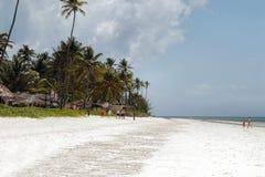 Praia de Zanzibar imagens de stock