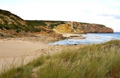 Praia de Zavial fotografia de stock