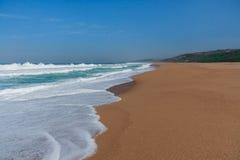 Praia de Zimbali Fotografia de Stock Royalty Free