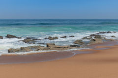 Praia de Zimbali Fotos de Stock
