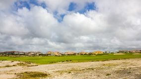 Praia del Rei, touristic village, Óbidos, Portugal. Overview of Praia del Rei, a tourist village on the edge of a golf course and a magnificent Atlantic Stock Images