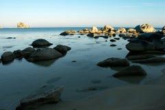 Praia, descanso, liberdade Foto de Stock Royalty Free