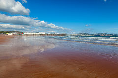 Praia Devon England de Paignton Foto de Stock Royalty Free