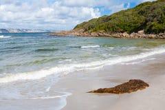 Praia Dinamarca do oceano fotografia de stock