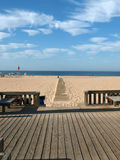 Praia a Dinamarca Rocha em Portimao, o Algarve Imagens de Stock Royalty Free