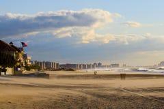 Praia distante de Rockaway Imagens de Stock