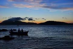 Praia do ¡ de GeribÃ, Búzios, Rio de janeiro fotografia de stock