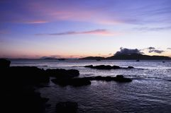 Praia do ¡ de GeribÃ, Búzios, Rio de janeiro imagens de stock