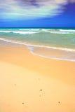 Praia do ícone Imagem de Stock