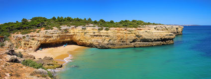 Praia do Algarve imagem de stock