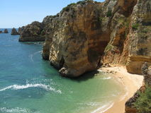 Praia do Algarve Imagem de Stock Royalty Free