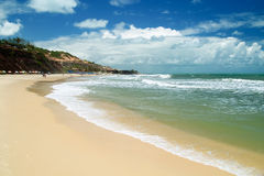 Praia do amor, Brazil Stock Images