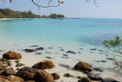 Praia do Ao Wai Foto de Stock Royalty Free