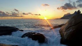Praia do Arpoador Royalty Free Stock Photography