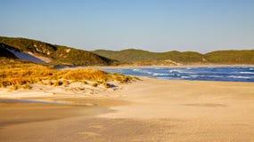 Praia do batente Imagem de Stock