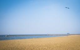 A praia do beira-mar Momochi Imagens de Stock