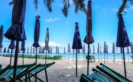 praia do céu azul Imagem de Stock