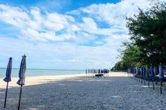 praia do céu azul Foto de Stock