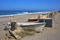 Praia do cabo de gata Nijar Almeria Andalusia Spain dos Salinas dos las de Almadraba de Monteleva o imagens de stock royalty free