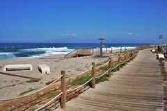 Praia do cabo de gata Nijar Almeria Andalusia Spain de Fabriquilla imagens de stock