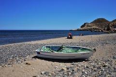 Praia do cabo de gata Nijar Almeria Andalusia Spain de Negras fotos de stock