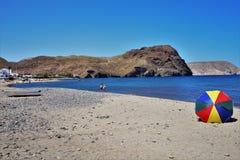 Praia do cabo de gata Nijar Almeria Andalusia Spain de Negras fotografia de stock