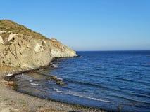 Praia do Cala Higuera San José Nijar Almeria Andalusia Spain imagem de stock royalty free