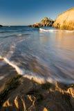 Praia do camelo em Santander Imagem de Stock