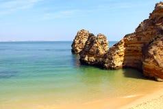 Praia do Camilo, Lagos, Portugal. Camilo beach Praia do Camilo in Lagos, Algarve, Portugal Stock Image