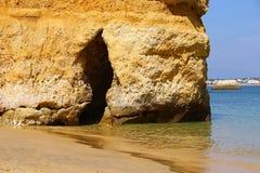 Praia do Camilo, Lagos, Portugal Royalty Free Stock Photo