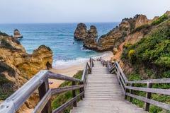 Praia do Camilo, Lagos Portugal Stock Image