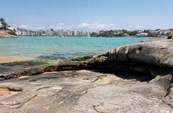 Praia do Canto Vitoria stock photo