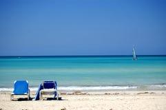Praia do Cararibe Imagem de Stock