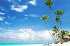 Praia do Cararibe imagem de stock royalty free