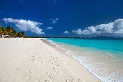 Praia do Cararibe bonita foto de stock royalty free