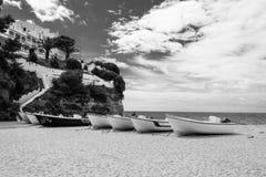 Praia do Carvoeiro in the Algarve (Portugal) Royalty Free Stock Photo