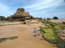 Praia do Castelejo, near Vila Do Bispo, Algarve Stock Photos