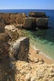 Praia do Castelo Royalty Free Stock Photo
