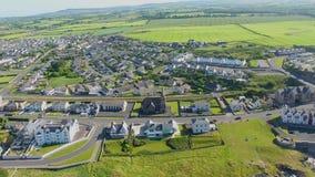 Praia do Castlerock & Oceano Atlântico Derry Northern Ireland video estoque